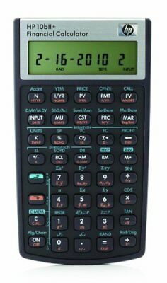 HP 10bII+ Financial Calculator (NW239AA)Suitable For Business Accounting Banking