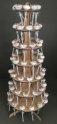 Y43C 77x Lollypop Candy Sweet Stand Cart Table Decoration Centrepiece Wedding