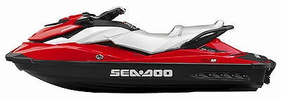SEADOO One Color Replacement Decals for Sides x2, Premium Vinyl, Sticker
