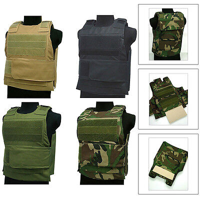 Tactical Wargame / AirSoft Paintball BB Bulletproof Armour Plate Stab Proof Vest
