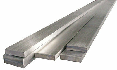Stainless Steel Flat Bar Grade 304 30CM or 1MTR X WIDE RANGE OF SIZES!!
