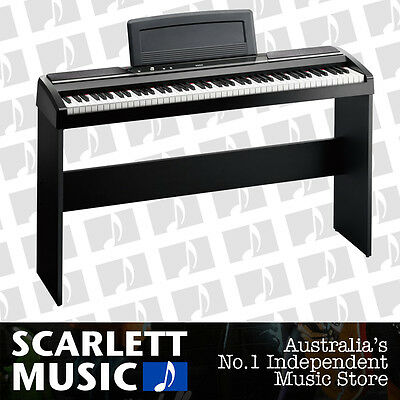 Korg SP-170S 88 Key Touch Weighted Digital Piano w/ Wooden Stand - SP 170 *NEW*