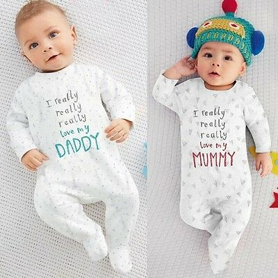 Newborn Kids Romper Infant Kids Bodysuit Baby Boys Girl Outfits Jumpsuit Clothes