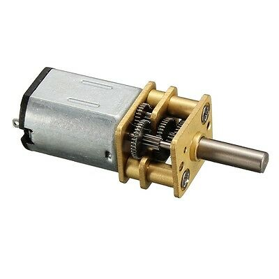 New Micro Speed Reduction Gear Motor DC 1.5V-6V With Mini Metal Gearbox Wheel Ge
