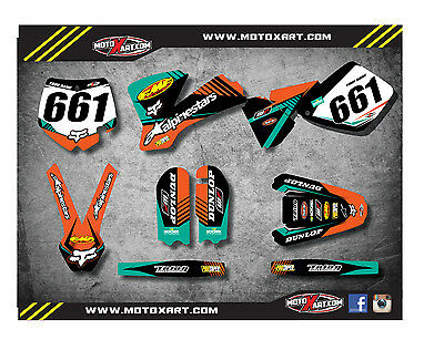 Full  Custom Graphic  Kit -VITAL STYLE - KTM 65 SX 2002 - 2008 stickers, decals