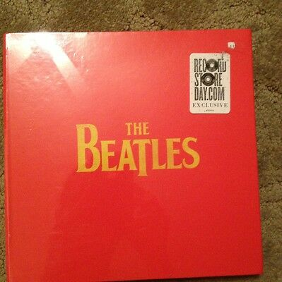 LIMITED The Beatles 2011 Record Store Day Set SEALED #'d 4 Vinyl Singles, Poster