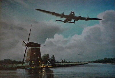 On Course For The Mohne 617 Squadron Dambusters Print By Richard Taylor