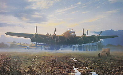 Morning Glory Avro Lancaster RAF Aviation Print by Robin Smith Air Force Britain