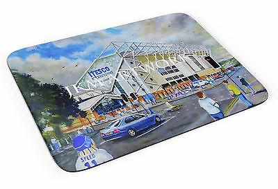 Elland Road Stadium Art Mouse Mat - Leeds United FC