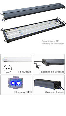 T5 Aquarium Light Hood Four tube System 120cm 140cm Saltwater Marine Tank