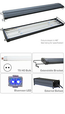 T5 Aquarium Light Hood Four tube System 150cm 170cm Saltwater Marine Tank
