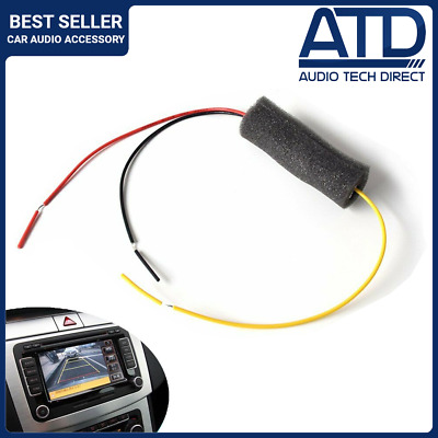 Rear Camera 12v Filter Rectifier Anti Flicker Interference Canbus VW Audi Skoda