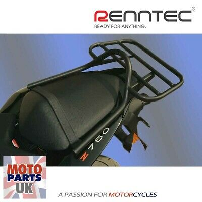 RennTec Kawasaki Z750 ('07-)/Z1000 ('07-'09) Luggage Carrier Rack with Grab Rail