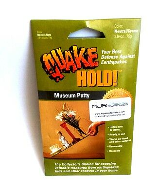 Quake Hold Museum Putty Quakehold for stabilizing items
