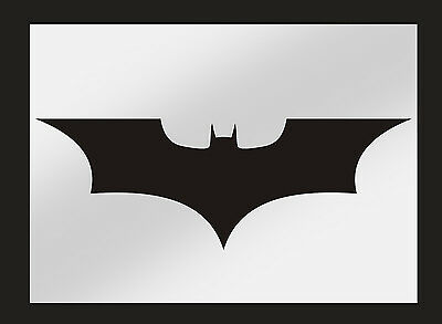Batman Dark Knight Stencil Perfect for Airbrushing & Painting On Walls & Fabric
