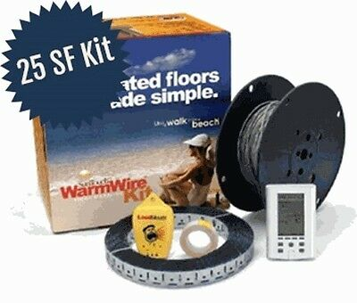 SunTouch WarmWire Kit - 120V - 25 Sq. Ft.