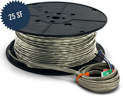 SunTouch WarmWire Cable - 120V - 25 Sq. Ft.