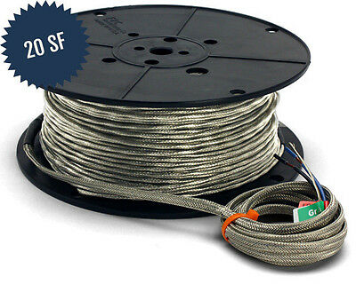SunTouch WarmWire Cable - 120V - 20 Sq. Ft.