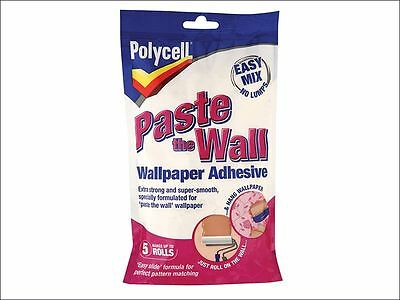 Polycell - Paste The Wall Powder Adhesive 5 Roll