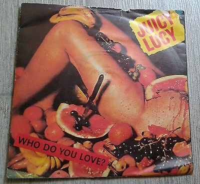 "# Juicy Lucy WHO DO YOU LOVE ? UK'80 7""-S00211"
