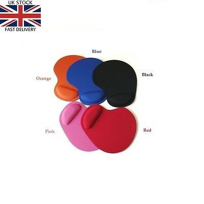 Anti-Slip Mouse Pad Mat Soft Wrist support Rest Comfortable for PC Laptop Table