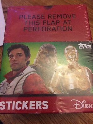Star Wars Part 1 & 2 - 2 Full Box Of 50 Packets = 100 Packets SPECIAL OFFER