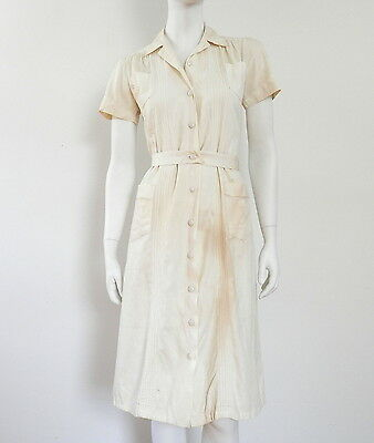 Antique Nurse Dress by Linda Lane WWII Nursing Uniform