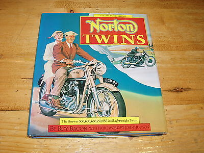 Book - Norton Twins (Osprey Collectors Library) by Roy Bacon.
