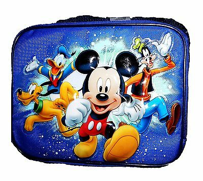 Disney Mickey Mouse and Friends Children's Collapsible Full Lunch Box