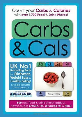 Carbs & Cals: Count your Carbs & Calories with over 1,700 Food & Drink Photos! .