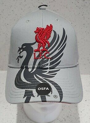 Official Liverpool FC Bird Grey Baseball Cap - Brand 47 - New For 16/ 17 Season