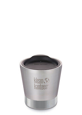 Klean Kanteen 8oz 237ml Insulated Tumbler Brushed Stainless Steel