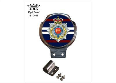Royale Car Scooter Bar Badge + Fittings - ROYAL CORPS OF TRANSPORT - B1.3069