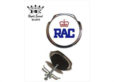 Royale Car Grill Badge + Fittings - ROYAL AUTOMOBILE CLUB (RAC) - B2.2970