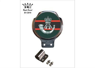 Royale Car Scooter Bar Badge + Fittings - THE RIFLES REGIMENT - B1.3070