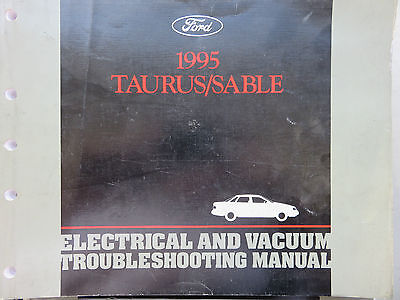 1995 ford taurus sable service manual wiring diagram electrical oem factory