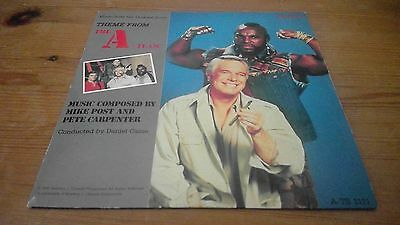 "Mike Post And Pete Carpenter ‎– Theme From the A-Team - 7"" Vinyl Record Single"