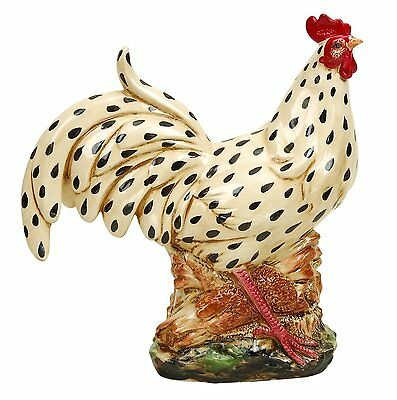 Ceramic Rooster Country Decor Rooster Statue Home Decor Rustic Chic