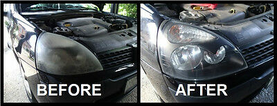 Fast Headlights Cleaner Polish Kit Cleaning .