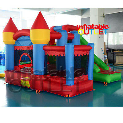Jumping castle inflatable bounce house bouncy castle with ball pit