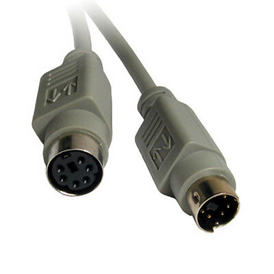 100ft long 6pin MD//Mini DIN Male~Female Extension Camera//Cam//Video//Power Cord