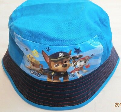 Brand New Paw Patrol Blue Bucket Cotton Hat