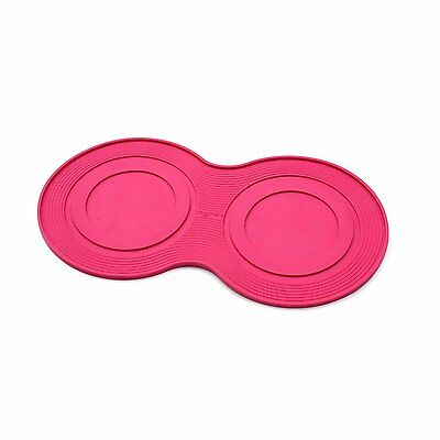 New Open Box Petprojekt Large Dogmat Dog Bowl Food Mat Pink