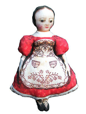 Izzanah Walker Lithographed Cloth Doll