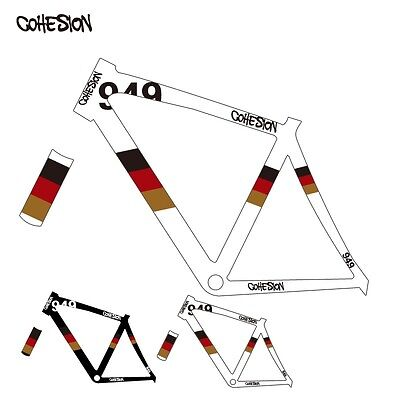 new gemany 949 road bike sticker bicycle decals fixed gear frame decal