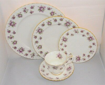 1-Royal Albert Sweet Violets 5 Piece Place Setting ( 12 Available)