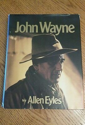 JOHN WAYNE by Allen Eyles 1979 Memorial edition Illustrated 333 pages