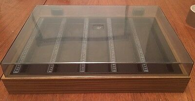 Large Vintage Plastic Storage Box for 200 x 35mm Photo Slides, Retro Look!