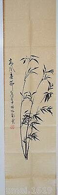 Collection Chinese Scroll Paintings - Hand Painted bamboo Picture