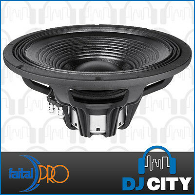 "Faital Pro 15HP1060 8ohm Neodymium 15"" 1000W Woofer Replacement Speaker"